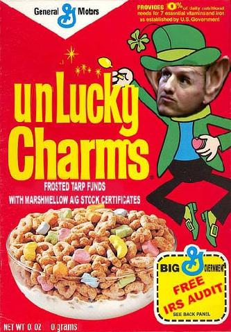 Unlucky Charms Timothy Geithner