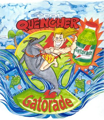 Gatorade Cartoon