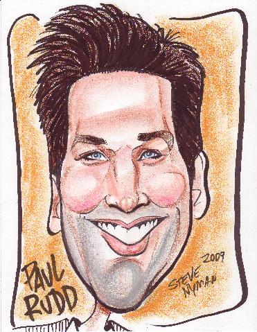 Paul Rudd Caricature