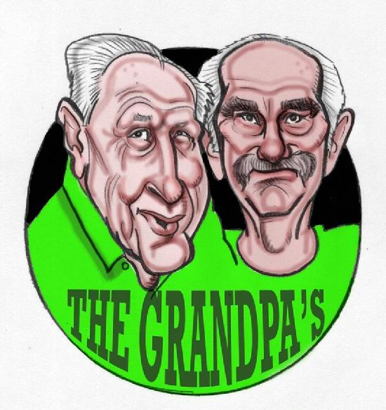 The cartoon art created here is for two brothers who started a fine pizza restaurant and wanted this cartoon logo of themselves to spice up the joint.